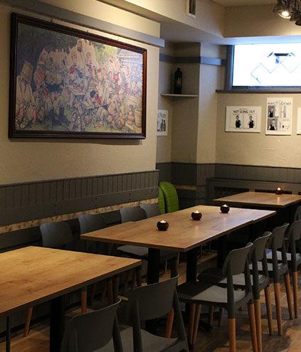 72QT club bar hire London