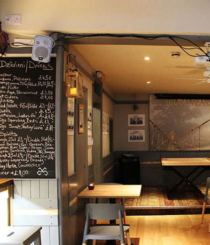72QT London club bar for hire