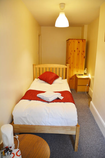 72QT London hotel rooms single room