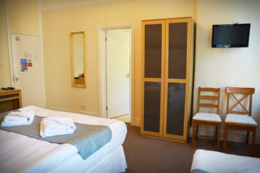 Central London hotel room bookings