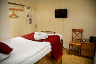 single hotel rooms London