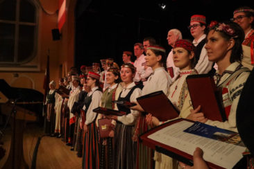 Latvian choir London
